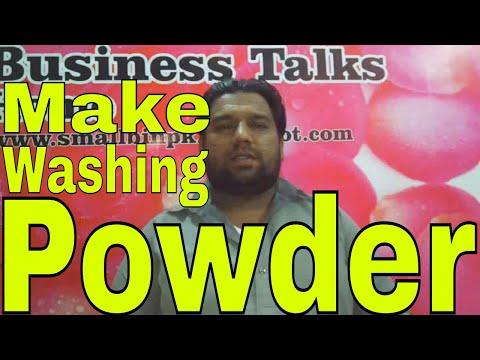 How to make washing powder