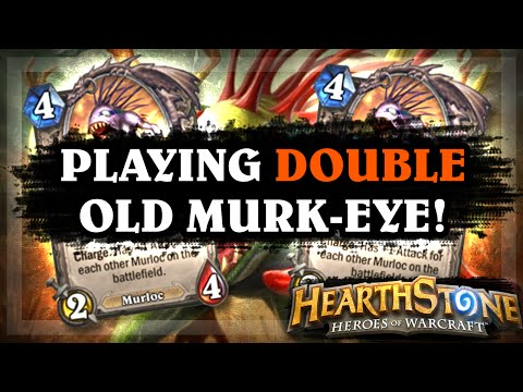 Playing Double Old Murk-Eye! [Hearthstone Ranked Gameplay]