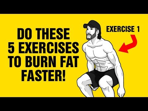 Add These 5 Exercises To Any Workout To Burn Fat Faster - How to Get 6 Pack Abs - Sixpack Factory