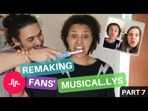 Remaking Fans Musical.ly Videos!! #ChallengeSherice7