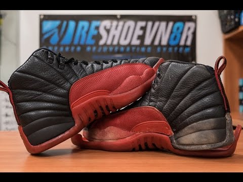 Restorations with Vick - Air Jordan Flu Game 12 Full Restoration