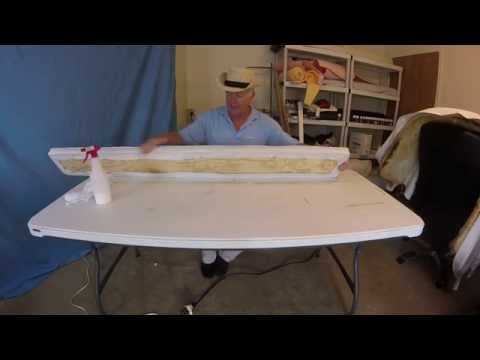Boat Re upholstery Chapter 16 back rest assembly