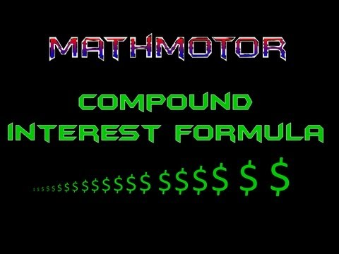 Compound Interest Formula: THE EASY WAY!