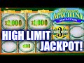 INSANE HIGH LIMIT SLOT PLAY ★ GREEN MACHINE DELUXE JACKPOT ★