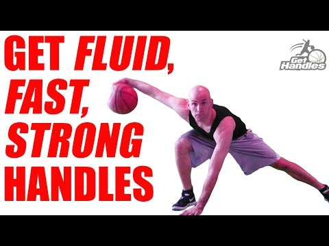 How To Get SICK HANDLES In Basketball In MINUTES! Ball Handling Drills
