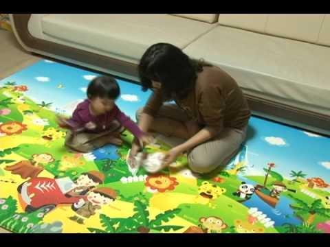 Baby mat, Cushioned Playmat , I&S Dwinguler mat , Eco-friendly Kids Play Mat, 한국 놀이방매트