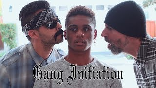 Gang initiation | David Lopez