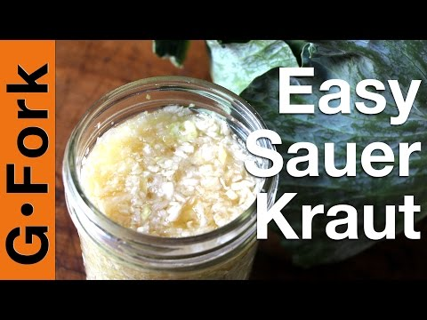 Easy Sauerkraut Recipe - GardenFork