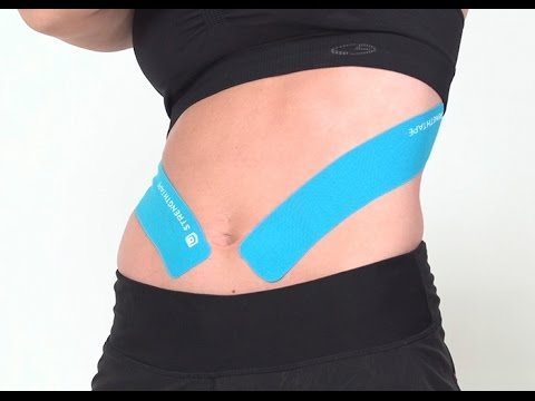 STRENGTHTAPE® | Kinesiology Tape | Abdominal muscle