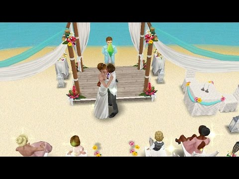 LET'S PLAY SIMS FREEPLAY THE WEDDING (PART 3)
