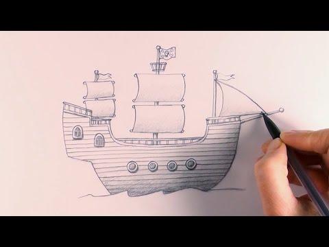 R.E.A.P: Concept Art: How to Draw a Pirate Ship