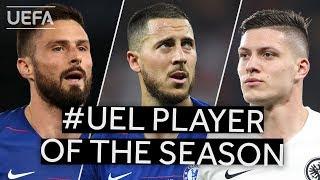 UEFA Awards: UEL Player of the Season shortlist
