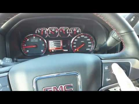 Changing from KM to Miles on your 2014 GMC/Chevrolet Truck