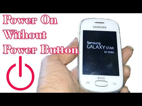 Power On Without Power Button - SAMSUNG GALAXY STAR GT-S5282