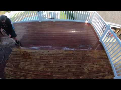 How to Strip Stain off Deck: Cabot Deck Cleaning Products