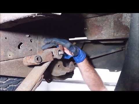 1997-2011 Ford F150 F250 easy shackle replacement