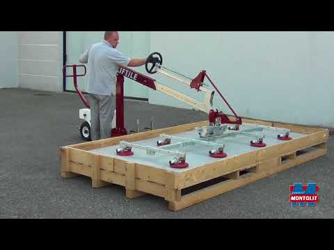 MANUAL WHEELED SYSTEM FOR LIFTING AND HANDLING SLABS