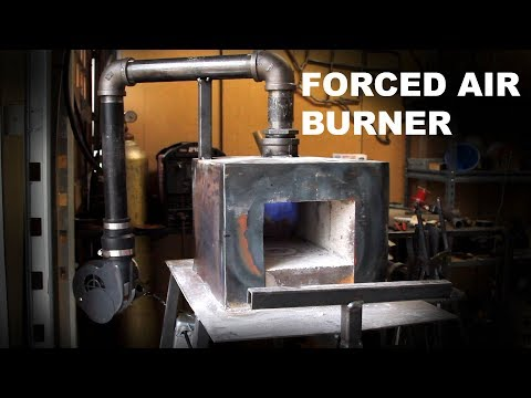 Building a Forced Air Burner For My Forge