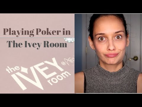 Playing Poker in Ivey Room - VLOG 12