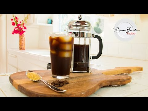 How to Make Cold Brew Coffee With a French Press - Professional Recipe