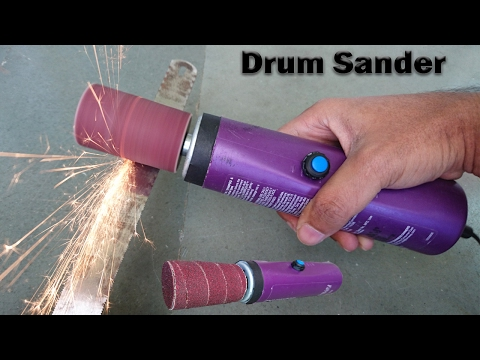 How to Make a Drum Sander at home