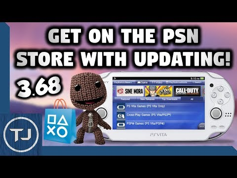 PS Vita Access The PSN Store Without Updating To 3.68! (For 3.67 & 3.65)