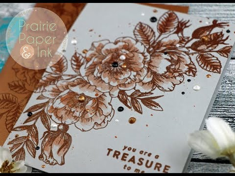 SSS Beautiful Flowers Embossed Card Set | 2 Step It Up Options!