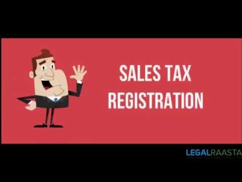 Sales Tax Registration.