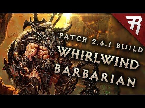 Diablo 3 2.6.1 Barbarian Build: Whirlwind GR 118+ (Guide, Season 13, PTR)