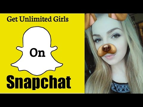 Get unlimited girls on Snapchat Make free friends on snapchat easy steps