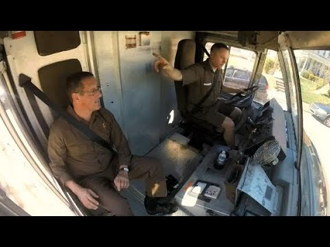 On the road with a UPS driver