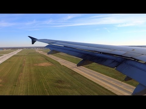 HD US Airways A320-231 Landing at Indianapolis International Airport