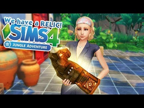 JUNGLE ADVENTURE MINI SERIES 🍃 | THE SIMS 4 | Part 6 - Making Relics!