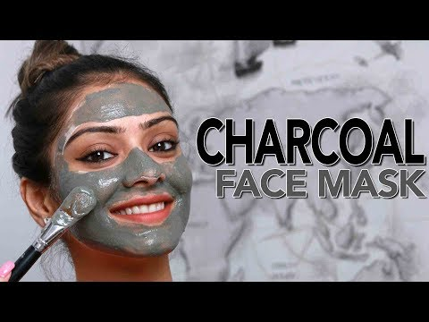 Charcoal Face Mask | Skincare Tutorial | DIY Face Mask | Makeup Tutorial | Foxy Makeup Tutorials