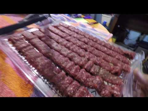 HOT MOOSE JERKY -What to do with Left over Moose Meat from last season. By NDN JOE