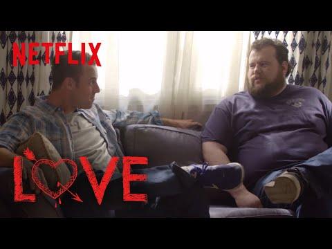 Love | Behind the Scenes: Mitch is a Dew Addict | Netflix