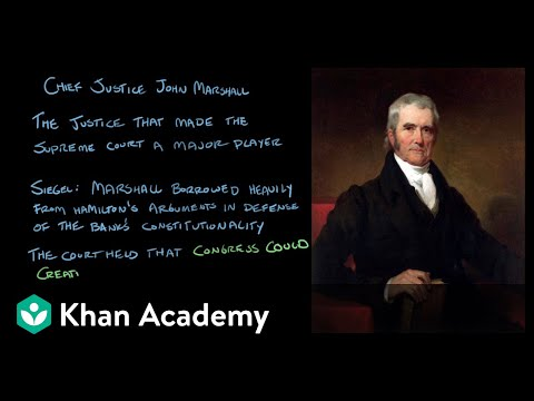 McCulloch v. Maryland | US Government and Politics | Khan Academy