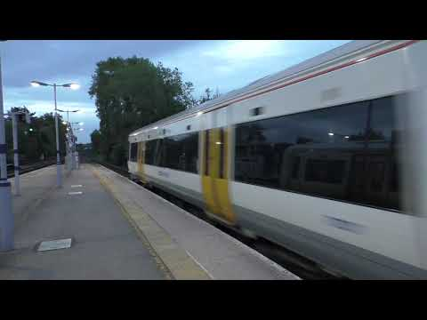 (HD) Rog 37800 Drags 375921 & 66116 on the Hothfield empties - 30/9/17