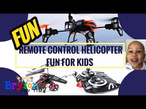 Bryson takes a trip to Walmart, Plays with New Helicopter Toy FUN