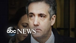 Trump denies he 'directed' Michael Cohen to break the law