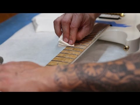 How To Clean a Guitar Fretboard by Kiesel Guitars