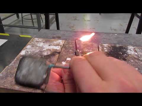 Lighting Oxy acetylene torch pt 1