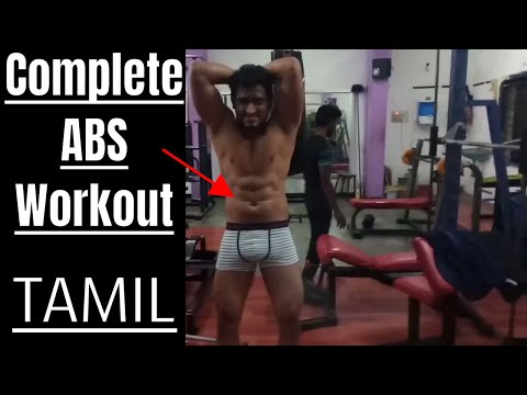 COMPLETE ABS WORKOUT ( Six Pack) IN TAMIL | Chandru Fitness