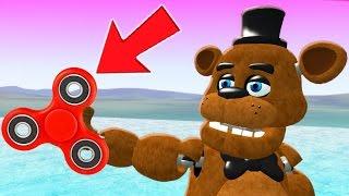 FREDDY vs THE ULTIMATE FIDGET SPINNER! (Gmod For Kids FNAF Sandbox Funny Moments) RedHatter