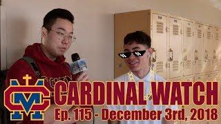 Cardinal Watch: ep. 115 - December 3rd, 2018