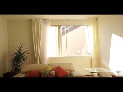 Monochromatic Color Scheme for Elegant Window Treatments   Galaxy-Design Video #138