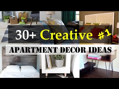 30+ Creative Apartment Decor Ideas #1