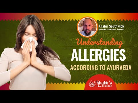 Understanding allergies according to Ayurveda: Food allergies of dairy, wheat, eggs, etc.