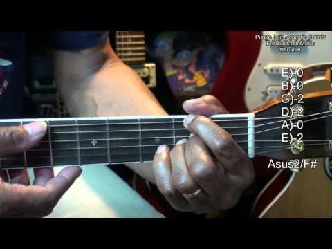 Prince Purple Rain Guitar Tutorial / Prince Purple