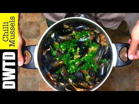 Tasting Australian Mussels (Chilli Mussels Recipe)